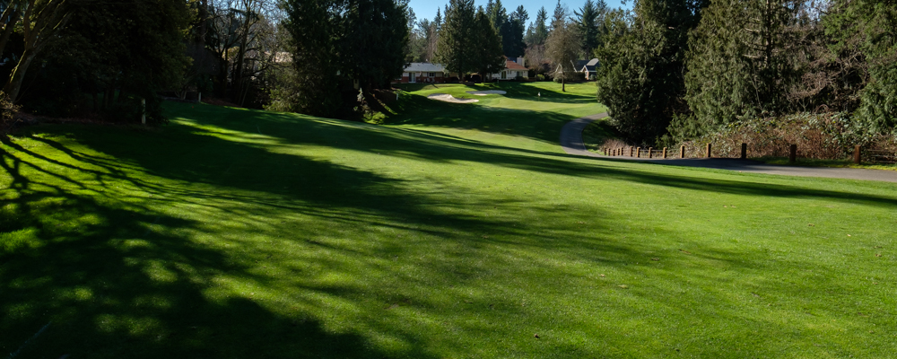 Hole 15 at Fairwood Golf and Country Club